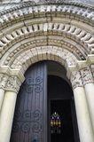 Medieval church in Saint-Fort (Gironde) Royalty Free Stock Image
