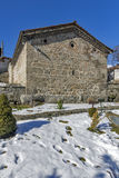 Medieval church of St. Theodore Tyron and St. Theodore Stratelates. Dobarsko village, Blagoevgrad region, Bulgaria royalty free stock photo