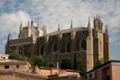 Medieval church in Toledo, Spain Royalty Free Stock Photo