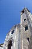 Medieval church in Umbria in Italy in summer Royalty Free Stock Image