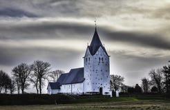Medieval church in Vester Vedsted, Denmark Stock Images