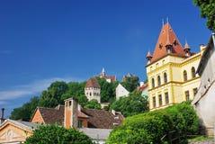 Medieval citadel Stock Image