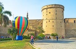The medieval citadel Stock Photos