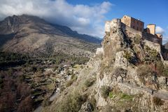 Free Medieval Citadel In Corte, A City In The Mountains, France, The Royalty Free Stock Photos - 113477228