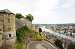 Medieval citadel in Namur, Belgium Stock Photography