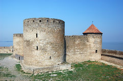 Medieval citadel near Odessa, Royalty Free Stock Photos