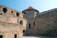 Medieval citadel near Odessa, Royalty Free Stock Photos