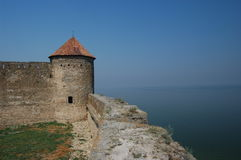 Medieval citadel near Odessa, Royalty Free Stock Photography