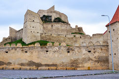 Medieval citadel. Rupea medieval citadel opened for tourism visits royalty free stock photos
