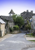 Medieval city of Auxillac Royalty Free Stock Images