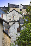 Medieval city of Auxillac Stock Images
