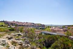 Medieval city Avila Stock Photography