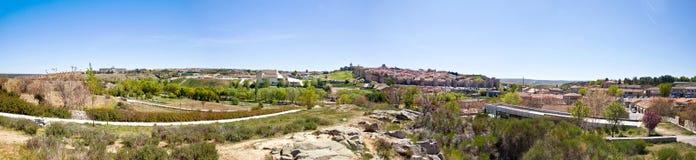 Medieval city Avila Stock Photo