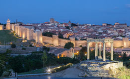 Medieval city of Avila, Spain Royalty Free Stock Image