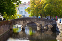 Medieval city of Bruges, Belgium Royalty Free Stock Photos
