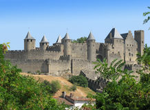 Medieval city of Carcassonne Royalty Free Stock Photography