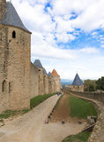 Medieval city of Carcassonne in France Royalty Free Stock Photography