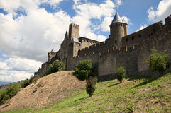 Medieval city of Carcassonne Stock Photography