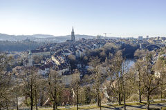 The medieval city center of Bern Royalty Free Stock Photos