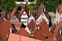 Medieval city Dinkelsbuehl in Germany Royalty Free Stock Image