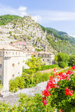 The medieval city of Entrevaux, France Royalty Free Stock Image