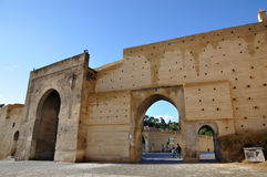 Medieval city gate in Fes, Morocco Royalty Free Stock Images