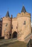 Medieval city gate Sabelspoort in Arnhem Royalty Free Stock Photos