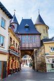 Medieval city gate in Valkenburg aan de Geul, Netherlands Royalty Free Stock Images