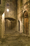 Medieval city of in Greece. Medieval city of Rhodes in Greece Royalty Free Stock Images