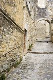 Medieval city of Le Poet Laval Drome France Royalty Free Stock Photography
