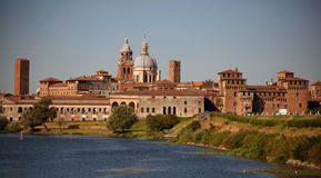 Medieval city of Mantova, Italy Royalty Free Stock Photo