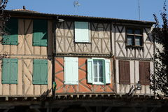 Medieval city of Mirepoix Royalty Free Stock Images