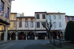 Medieval city of Mirepoix Royalty Free Stock Photography