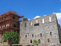 Medieval city of Mystras Laconia Greece Stock Photography