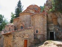 Medieval city of Mystras Laconia Greece Stock Photo