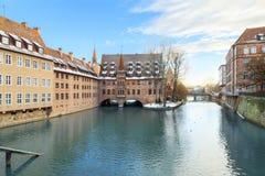 Medieval city Nuremberg, Germany Royalty Free Stock Image