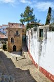 The medieval city of Obidos Royalty Free Stock Photography