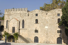 Medieval city of Rhodes, at Greece Royalty Free Stock Image