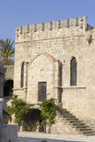 Medieval city of Rhodes, at Greece Stock Photo