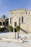 Medieval city of Rhodes at Greece Royalty Free Stock Photography