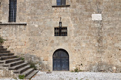 Medieval city of Rhodes island, Greece Stock Image