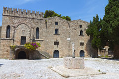 Medieval city of Rhodes island, Greece Royalty Free Stock Photos