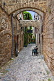 Medieval city of Rhodes island, Greece Royalty Free Stock Photography