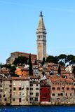 Medieval City of Rovinj Stock Photography