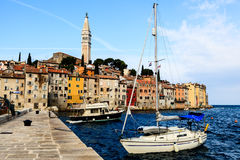 Medieval City of Rovinj, Croatia Royalty Free Stock Images