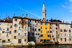 Medieval City of Rovinj, Croatia Stock Photo
