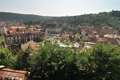 Medieval City of Sighisoara Royalty Free Stock Photography