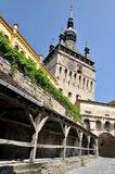 Medieval City of Sighisoara Stock Image