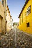 Sighisoara city street, Transylvania, Romania royalty free stock photography