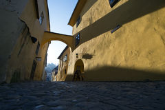 Medieval city of Sighisoara,Transylvania, Romania Royalty Free Stock Photos